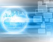 World Technology Background — Stock Photo