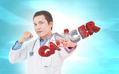 Fighting Cancer Concept — Stock Photo