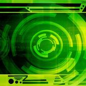 Green Futuristic Background — Stockfoto