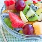 Mixed Fruits Salad — Stock Photo