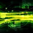 Green Abstract Technology Background — Stock Photo