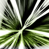Green And White Rays - Abstract Background — Stock Photo