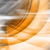 Orange Futuristic Background — Stock Photo