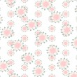 Seamless Flower Pattern  — Stock Photo