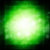 Футуристический зеленый фон — Стоковое фото