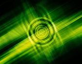 Fundo verde futurista. — Foto Stock