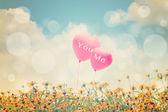 Love Concept Background — Stock Photo