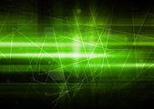 Green Futuristic Background — Stock Photo