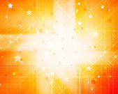 Orange Background With Stars — Stock Photo