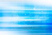 Futurystyczny niebieski streszczenie tło — Zdjęcie stockowe