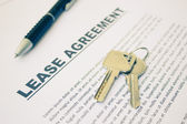 Lease Agreement,For Real Estate Concept Background — Photo