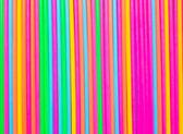 Kolorowe słomy skład serii — Zdjęcie stockowe