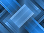 Blue Futuristic Abstract  Background — Stock Photo