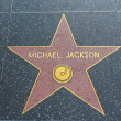Stock Photo: Michael Jackson star in Hollywood