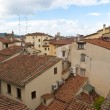 Red tile roofs of Florence — Stock Photo