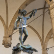 Stock Photo: Perseus holding head of Medusa statue