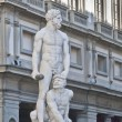 Baccio Bandinelli statue of Hercules and Cacus in Florence — Stock Photo