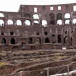 Stock Photo: Amphitheatre of Coliseum in Rome, Italy