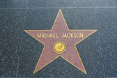 Michael Jackson star in Hollywood — Stock Photo