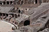 Amphitheatre of the Coliseum in Rome, Italy — Stock Photo