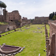 Ruins of Stadium Domitanus at the Palatine Hill in Rome, Italy — Stock Photo #13139414