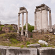 Ruins of Roman Forum. Rome, Italy - Stock Photo