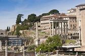 Roman Forum ruins. Rome, Italy — Stock Photo