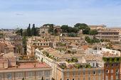 Paisaje urbano de roma, italia — Foto de Stock