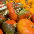 Stock Photo: Load of Pumpkins and Squashes
