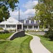 Visitor center  of Woodford Reserve Bourbon Distillery - Stock fotografie