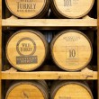 Products of Wild Turkey Bourbon Distillery - Foto Stock