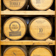 Products of Wild Turkey Bourbon Distillery - Foto de Stock