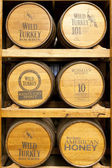 Products of Wild Turkey Bourbon Distillery — 图库照片