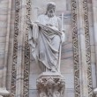 Details of Duomo Cathedral in Milan, Italy — ストック写真
