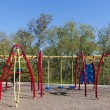 Colorful playground in a park — Stock Photo