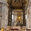 Stock Photo: Interior of Saint Peter Cathedral in VaticCity