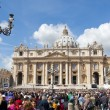 Saint Peter's Square in Vatican City — Stock Photo #15357383