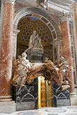 Monument voor alexander vii in de basiliek van vaticaan in rome. — Stockfoto