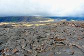 Volcanic lava field on Big island, Hawaii, USA. — Stock Photo