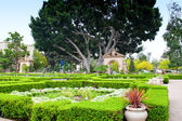 Alcazar Gardens in Balboa Park, San Diego. — Stock Photo