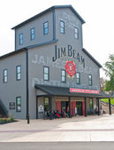 Destilería jim beam — Foto de Stock