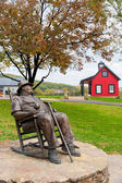 Statue of J. Beam at Jim Beam Distillery — Stock Photo
