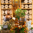 Exhibition in Heaven Hill Distilleries bourbon heritage center. - Stok fotoğraf