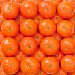 Fresh oranges, mandarins background — Stock Photo