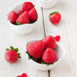 Fresh strawberries  — Stock Photo #25217673