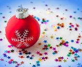 Fundo festiva de natal — Fotografia Stock