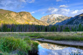 Mountain lake landscape. — Stockfoto