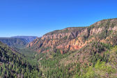 View of Oak Creek Canyon Arizona, USA — Stock Photo
