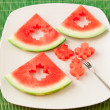 Seedless watermelon — Stock Photo #30235835