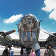 Boeing B-17 bomber — Stock Photo